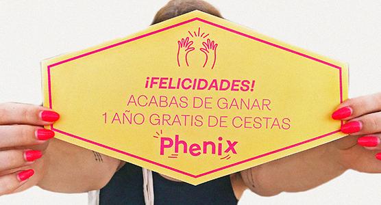 gana 1 año gratis de Phenix